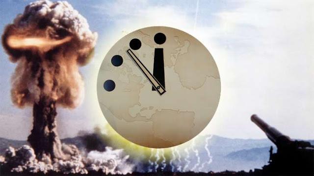 Το «ρολόι της Αποκάλυψης» δείχνει τρία λεπτά πριν από τα μεσάνυχτα