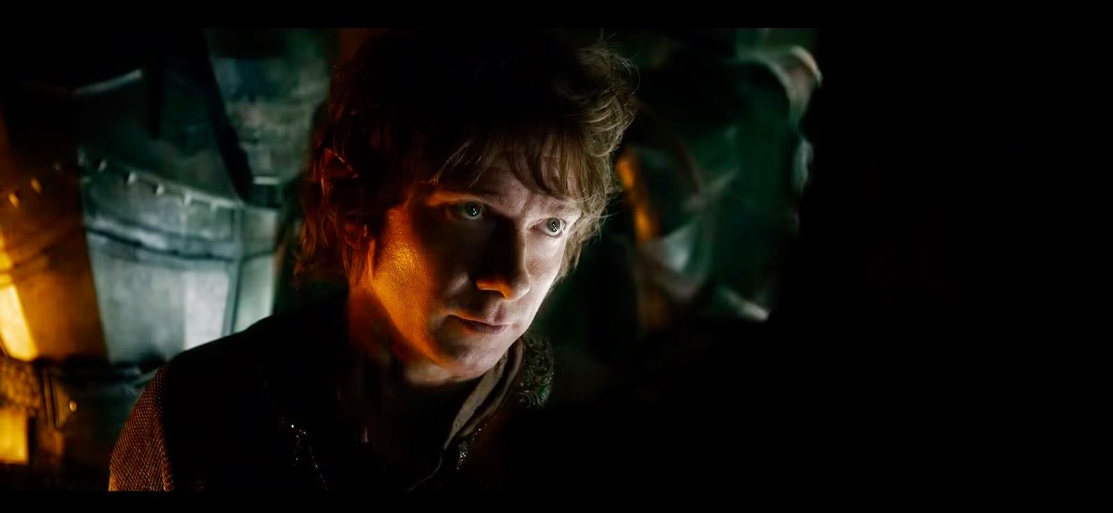 Bilbo intentando apelar al buen corazón de Thorin.