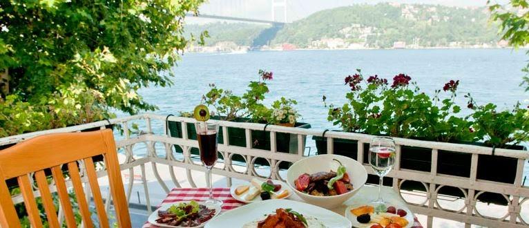 istanbul'un en keyifli brunch mekanları / cafe nar anadolu hisarı