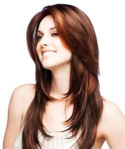model rambut terkini wanita wet look