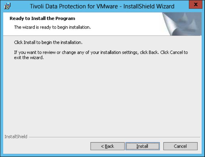 How to install Tivoli Storage Manager for Virtual Environment (TSM