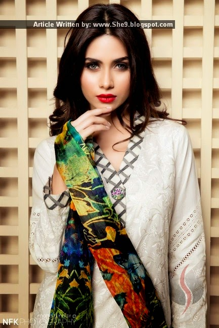 Sapphire Lawn 2015 Collection by Khadijah Shah