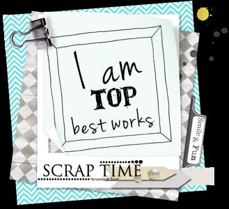 Пасхальная открытка в ТОП-5 челлендж-блога Scrap Time