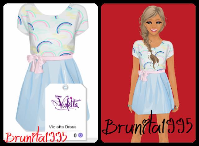 Para ganharem este vestido lindo da Violetta, sigam as instruções: