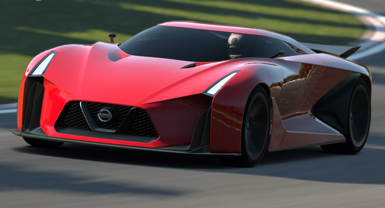 Nissan Says Next Gt R R36 Will Be Hybrid And Look Something Like