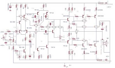 500Watt Power Amplifier Circuit