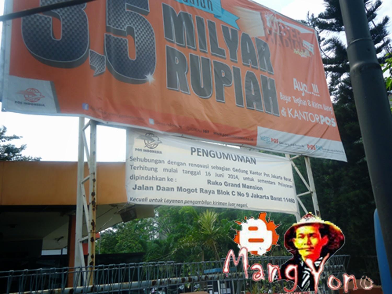Kantor POS INDONESIA Jakarta Barat Pindah
