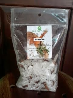 BATH SALT NATURAL BALIEKA - BALI NATURAL