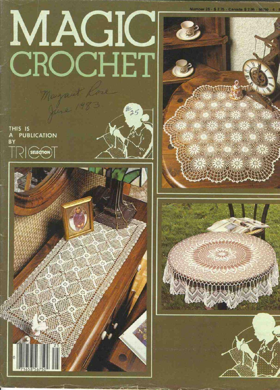 Magic Crochet : Magic Crochet No. 25 ~ Free Crochet Patterns