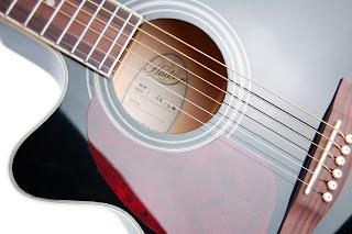 fotos de guitarras electroacusticas Hudson