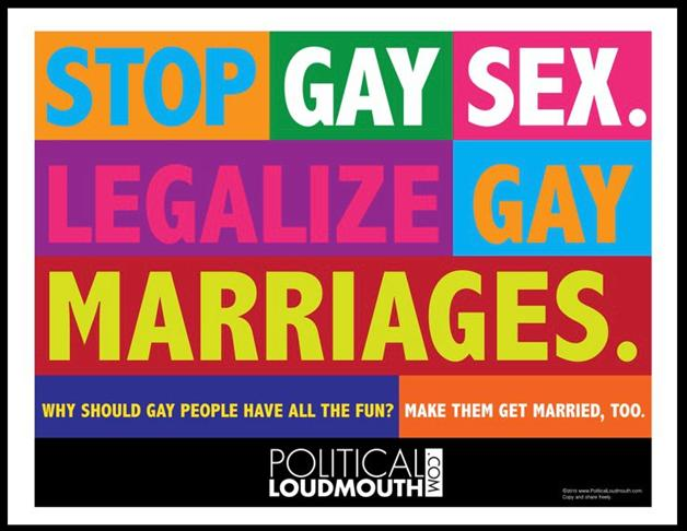 an argument against the legalization of gay marriage in the united states