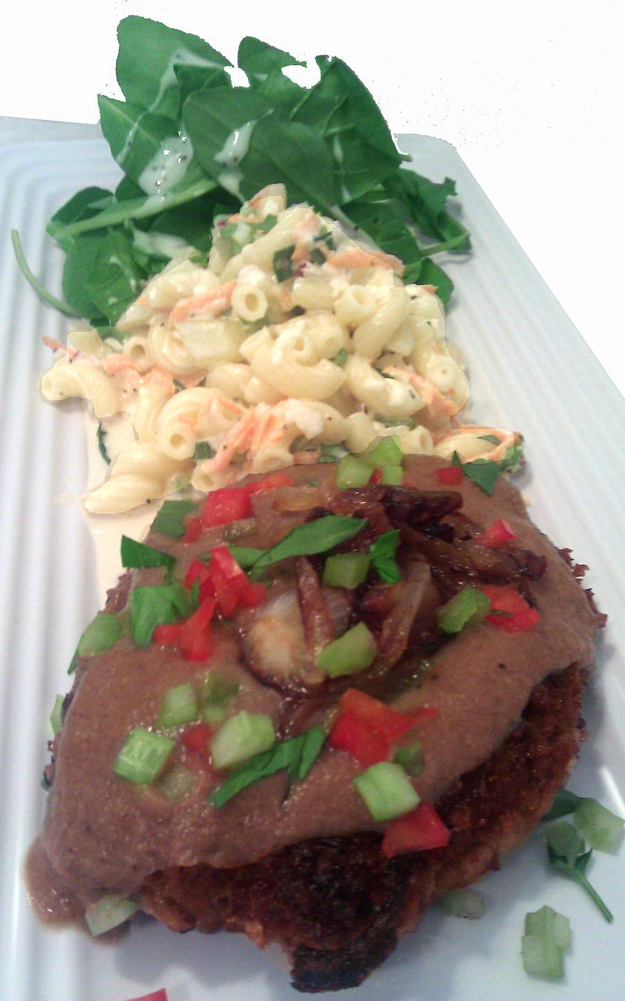 Caramelized Onion And Beef Loco Moco Recipe — Dishmaps