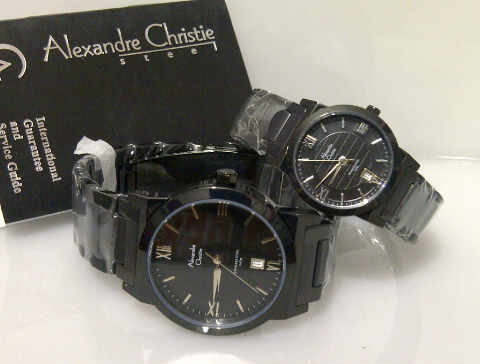 jam tangan alexandre christie 8262 couple original jam tangan couple ...