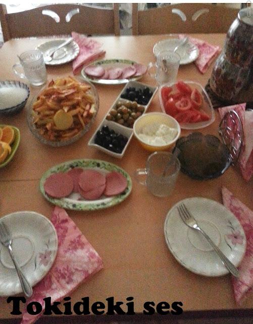 hafta sonu kahvaltısı
