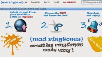 Crea sonidos y tonos divertidos para tu teléfono móvil con Mad Ringtones
