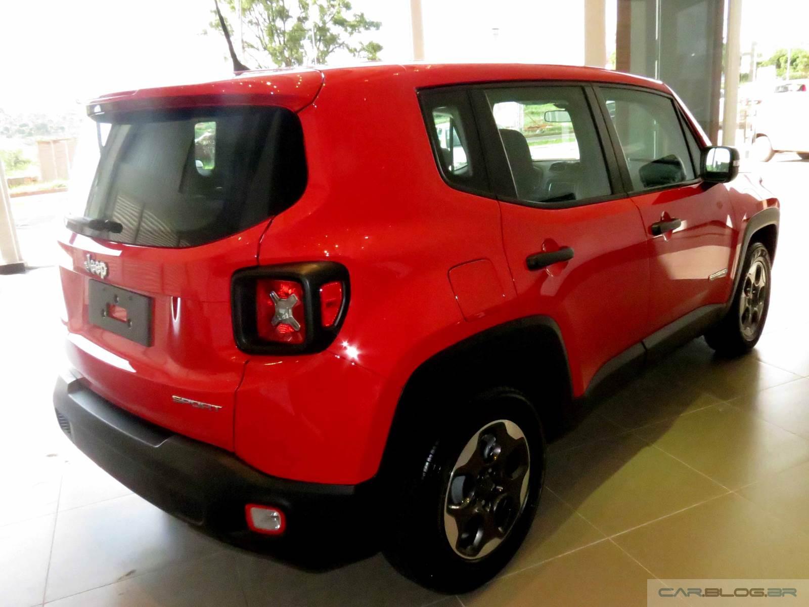 jeep renegade flex fotos e v deo do modelo de r 69 9 mil car blog br. Black Bedroom Furniture Sets. Home Design Ideas