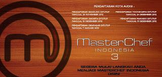 Daftar finalis master chef indonesia season 3