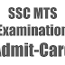 Staff Selection Commission Exam 2014 Multitasking Admit Card