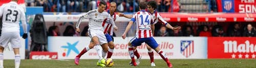 Atletico Madrid vs. Real Madrid 4-0 Highlight Goal Liga BBVA 7-02-2015