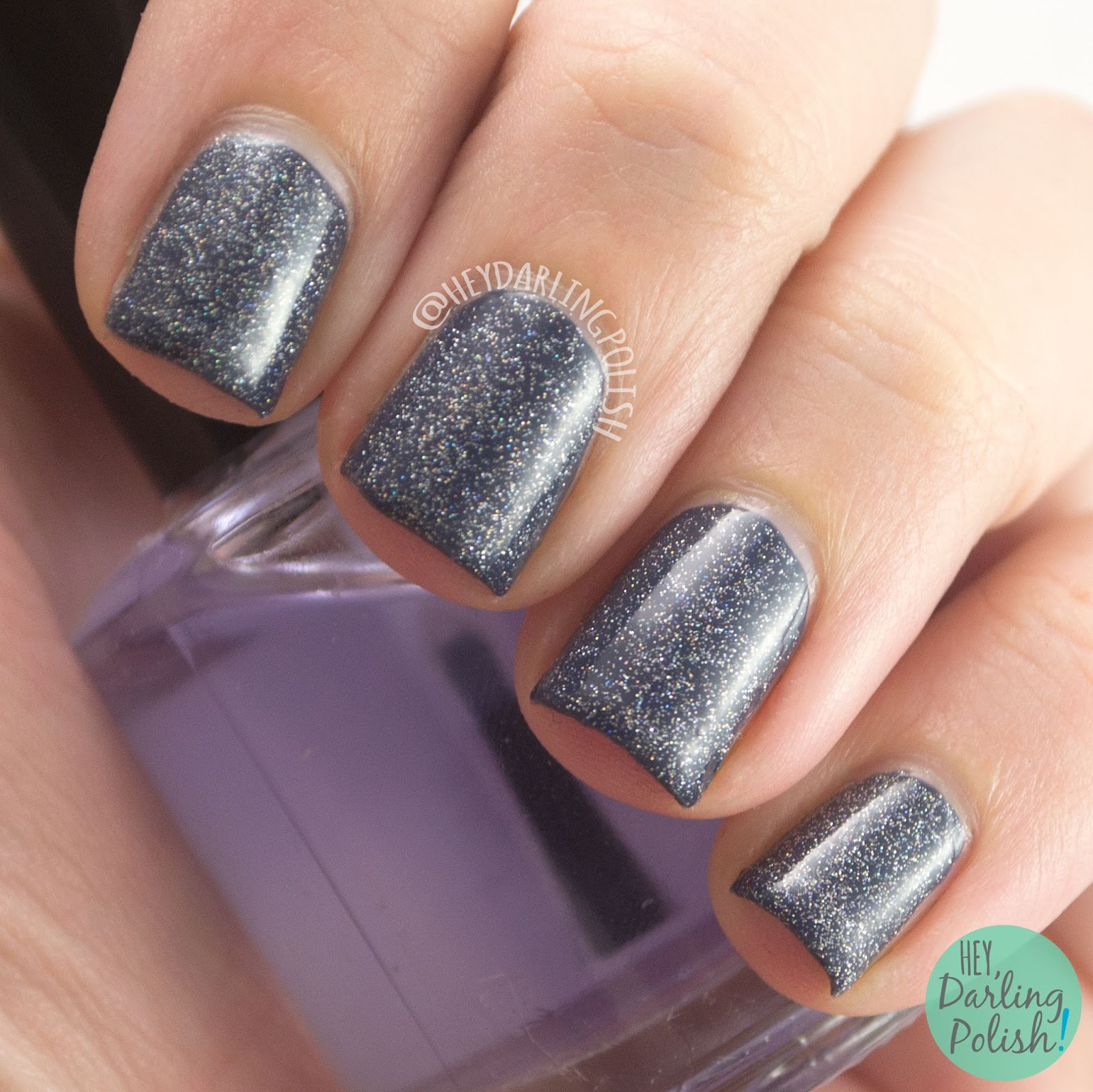 glitter, holographic, luminosity, nails, nail polish, indie, indie polish, liquid kandi, halloween, october sweet treat box, swatch