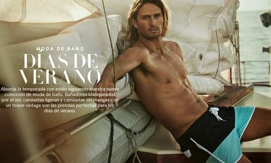 bañadores para hombre H&M verano 2014