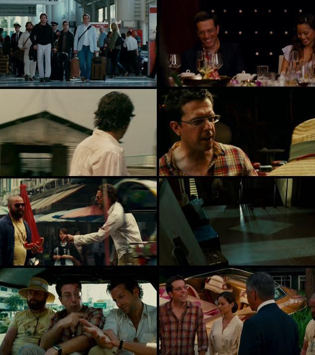 The Hangover Part II (2011) Dual Audio Hindi 720p BRRip 800mb