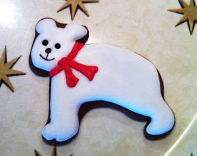 Polar Bear Cookie