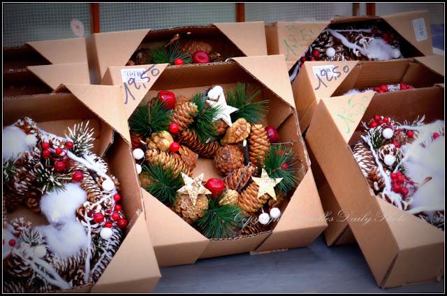 Couronnes Noël Christmas wreaths Versailles