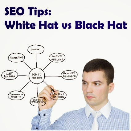 white hat and black hat seo