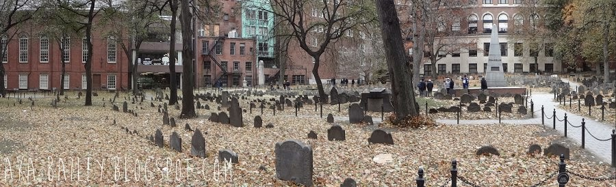 Granary Burying Ground, Boston, Massachusetts