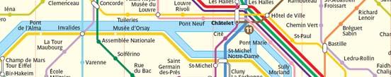 Viaje a París - Moverse por París, programando la visita y conociendo los diferentes medios de transporte