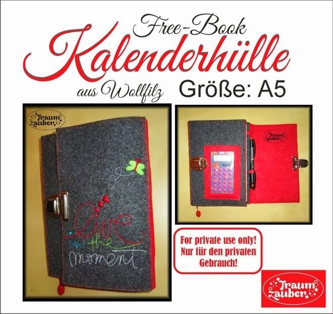 Free-Book Kalenderhülle