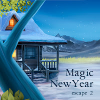 Juegos de Escape Magic New Year Escape 2 Solución
