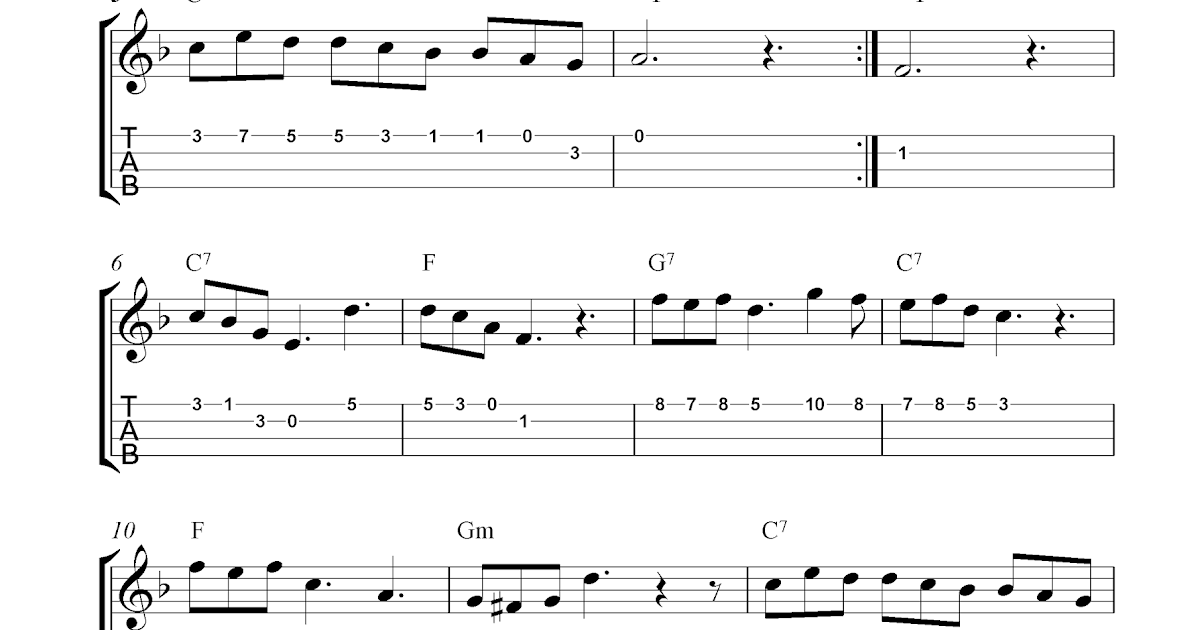 how to read music notes for ukulele
