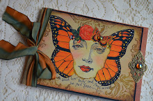 """Soul Set Free"" Altered Art Journal $14.99"