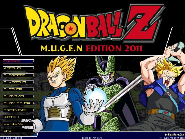 descargar dragon ball z mugen edition 2010