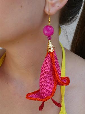bijuterii handmade crosetate