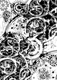 awesome decorative background Adobe Photoshop Brushes Plugin