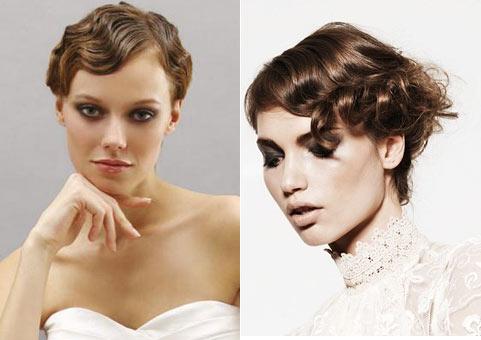 7 Весільні зачіски на коротке волосся