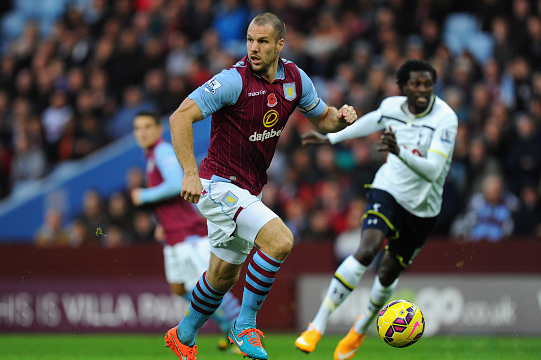 Napoli eye Aston Villa captain Ron Vlaar