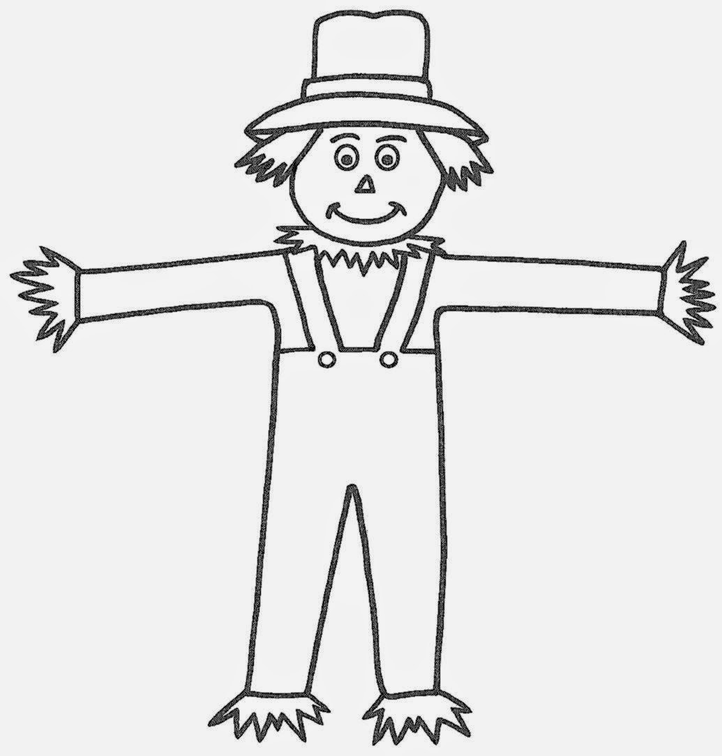 scarecrow color pages - scarecrow coloring sheets free coloring sheet