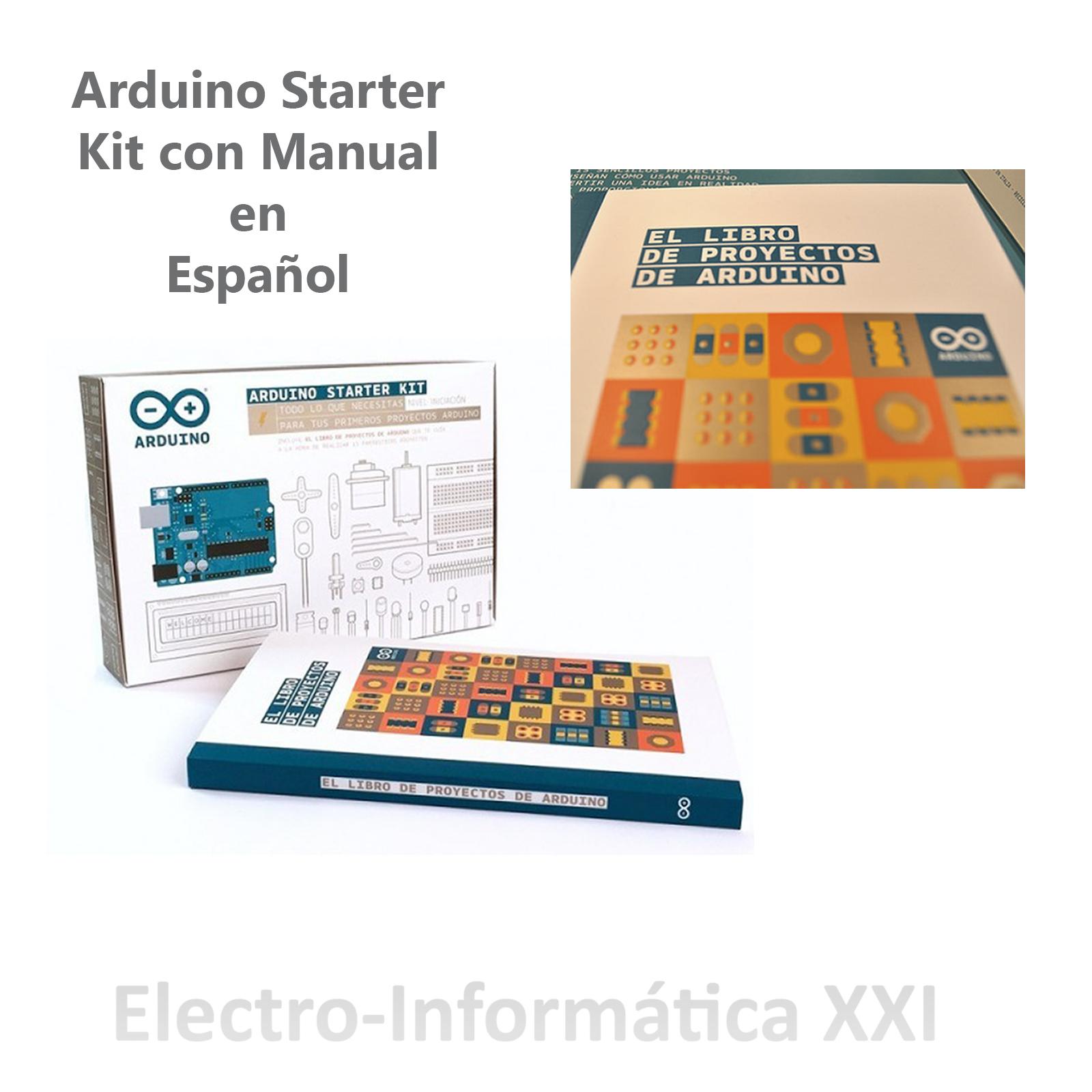 Aprender a usar arduino con starter kit original