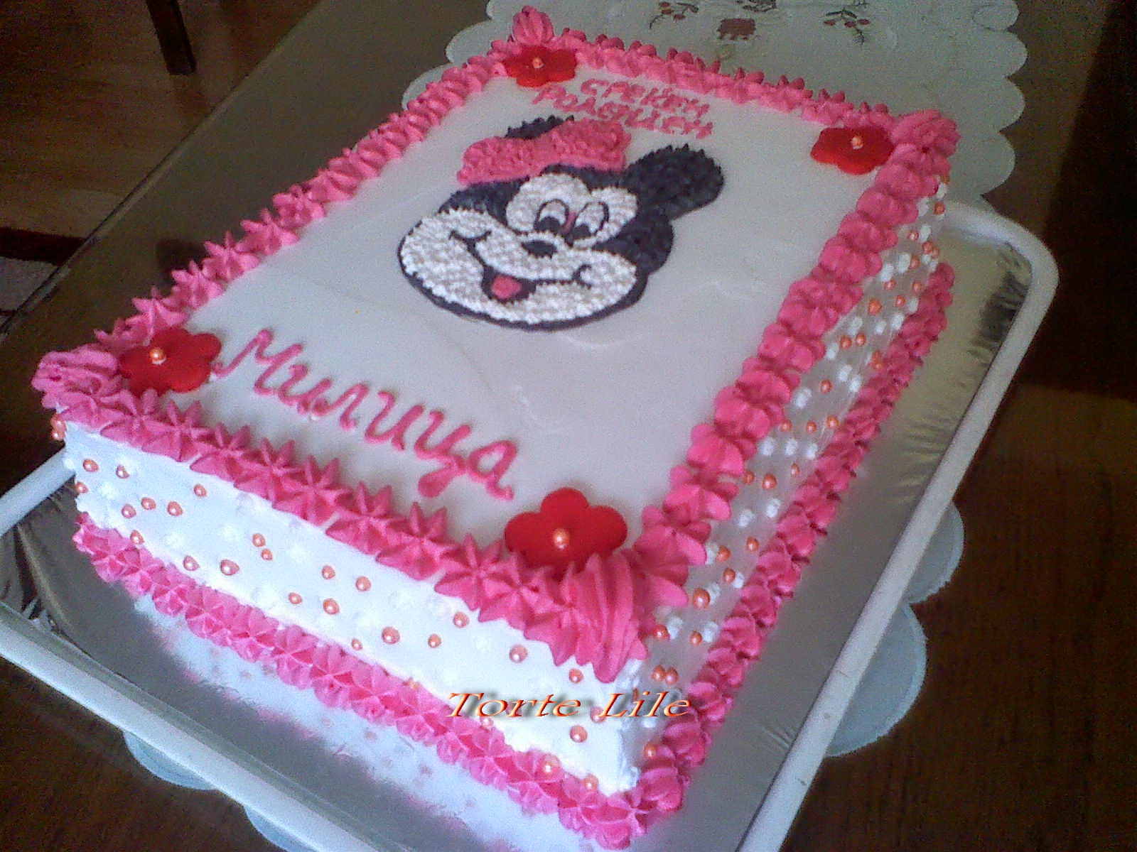 Miki maus torta ( sostav shvaler torta )