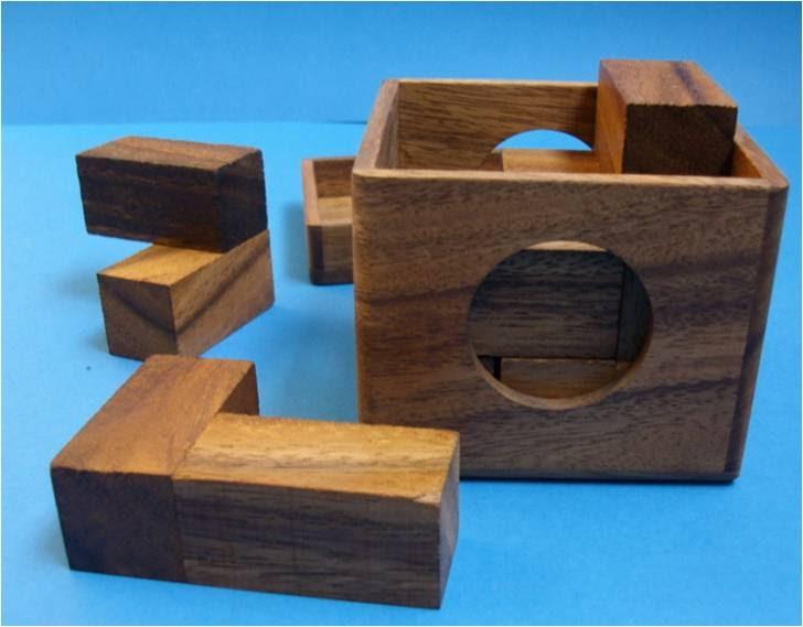 Ingenio de madera cubo soma - Cubos de madera ...