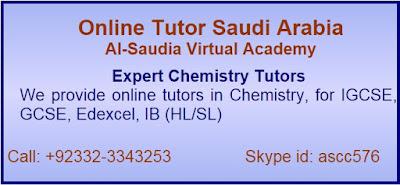 Chemistry Tuition Saudi Arabia