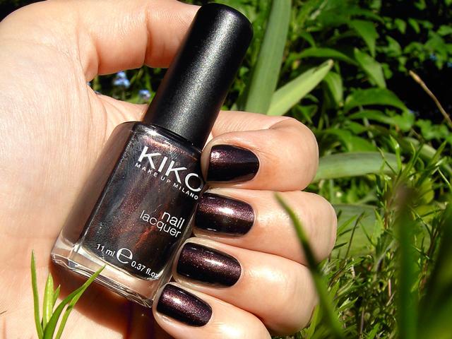 Kiko Pearly Chocolate Noir 374