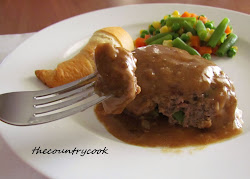 Hamburger Steaks & Gravy