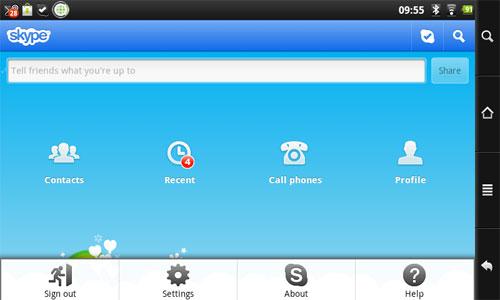 Aplikasi Android Skype
