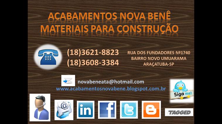 PIAS DE GRANITO ACABAMENTOS NOVA BENÊ MATERIAIS PARA CONSTRUÇÃO