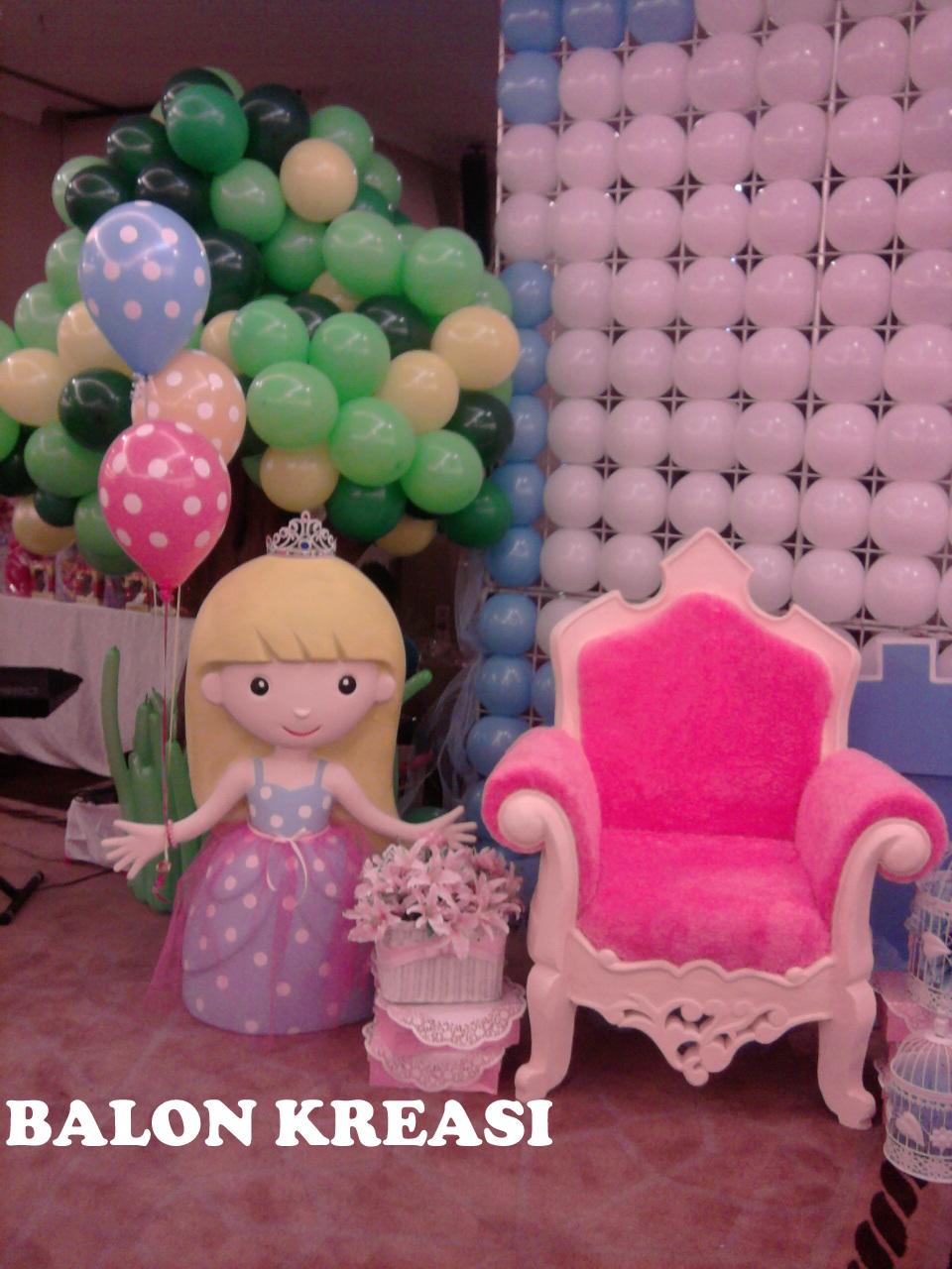 Balon kreasi dekorasi balon for Dekor kamar hotel buat ulang tahun